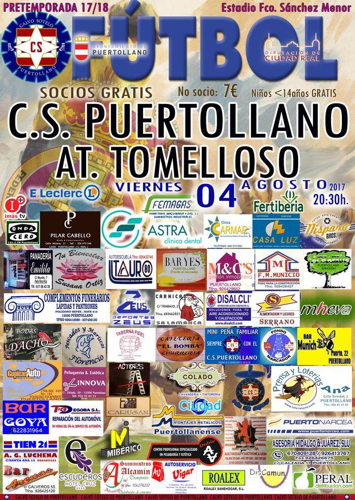 Partido: C.S.Puertollano-At. Tomelloso